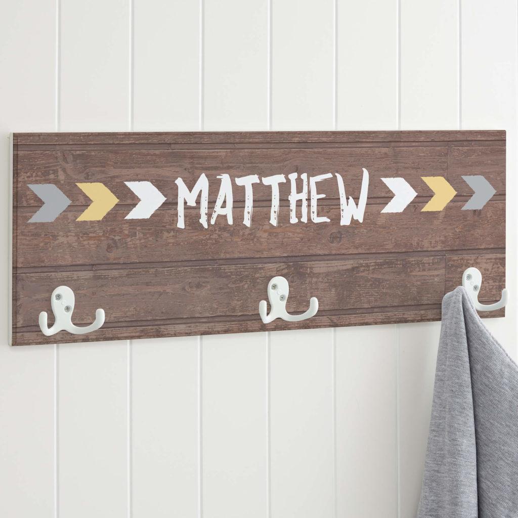 Rustic Nursery Decor - Wall Hooks