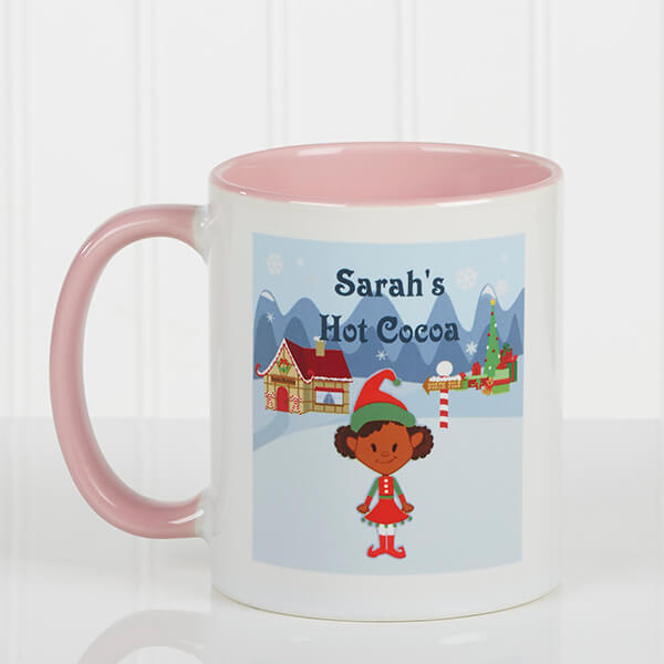 Family Character Christmas Mugs For Kids