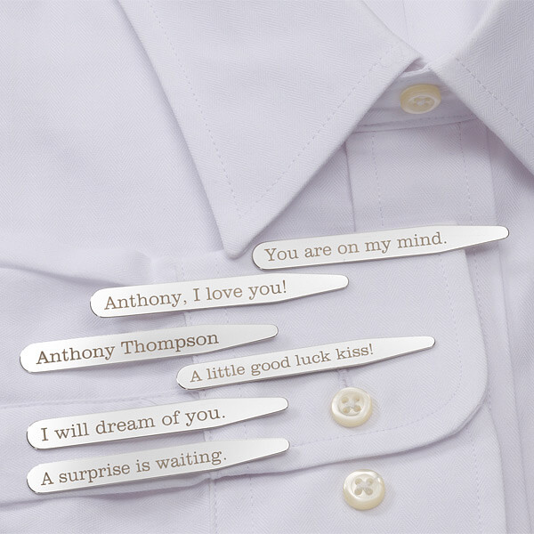Secret Message Collar Stays