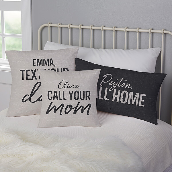 Call Your Mom Pillows