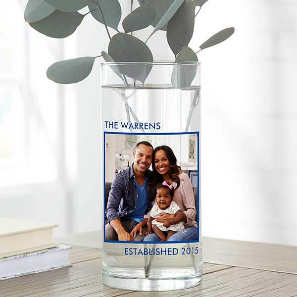 Photo Flower Vase