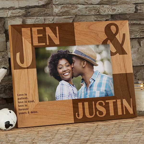 Engraved Sweetest Day Picture Frame