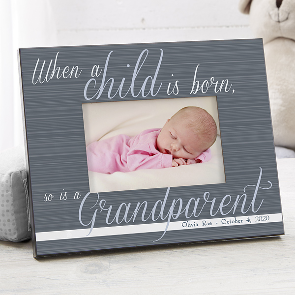 Grandparents Day Picture Frame From Baby