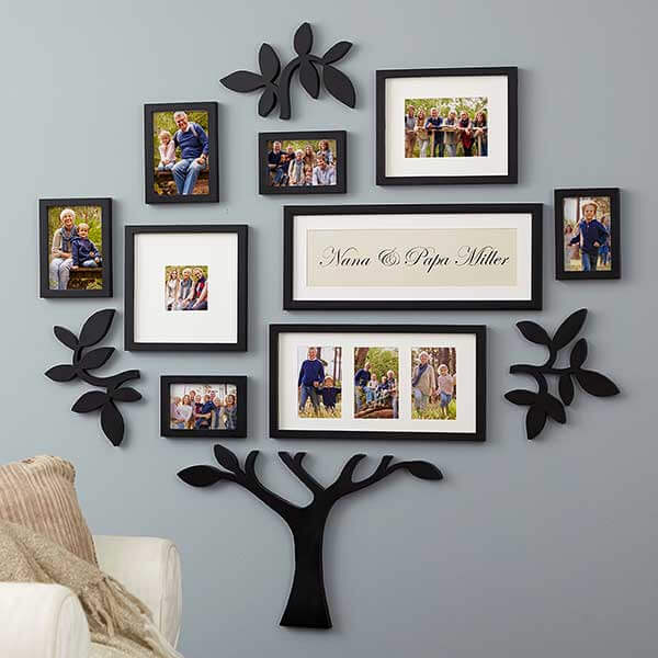 Grandparents DIY Gallery Wall Gift