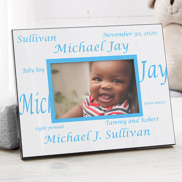 New Arrival Personalized Baby Picture Frame
