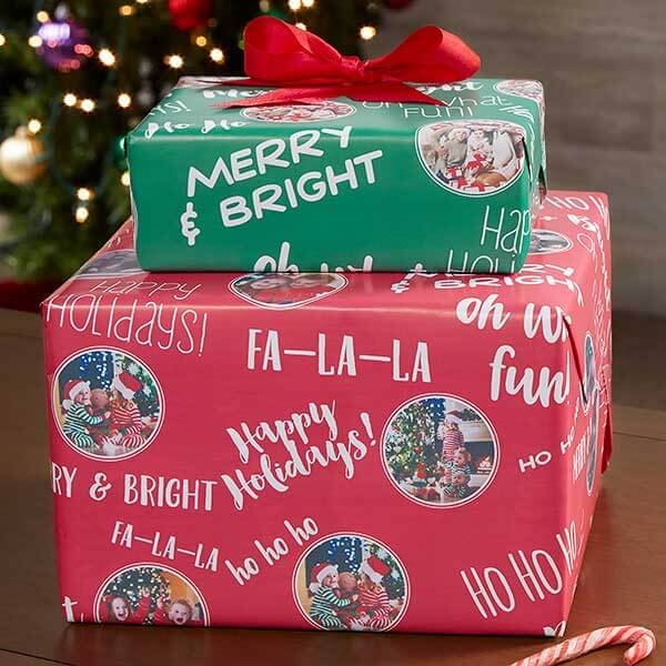 Christmas Photo Wrapping Paper