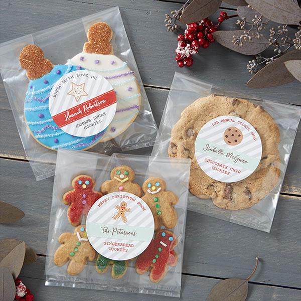 Cookie Swap Gift Labels