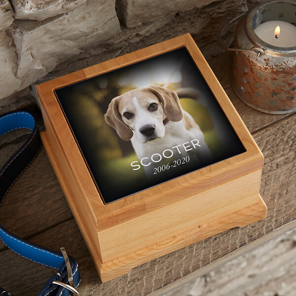 Photo Memorial Personalized Pet Urn