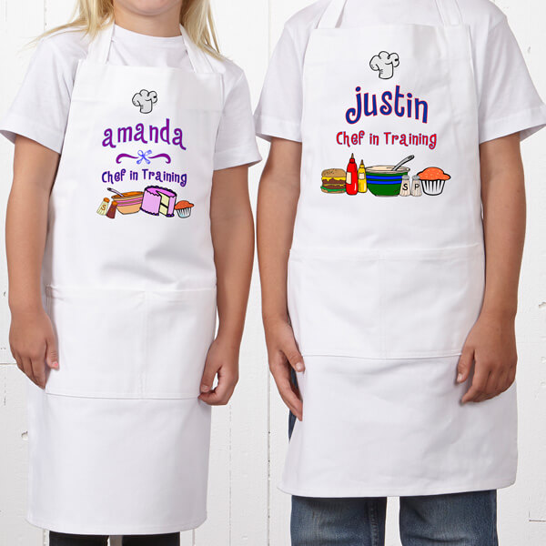 Junior Chef Personalized Kid's Apron