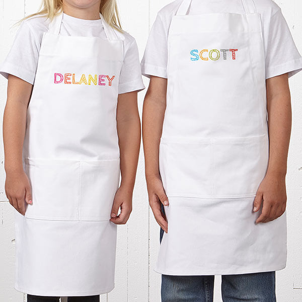 Personalized Kids Aprons for Easter