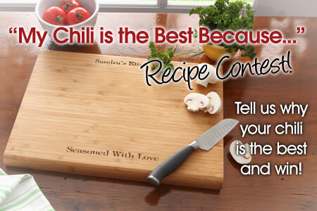 My Chili is the best because... contest