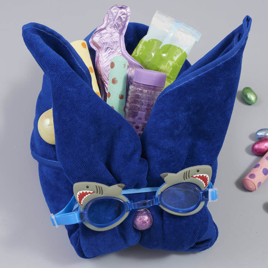 Beach Towel Easter Baskets