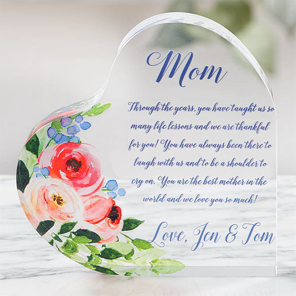 Best Epic Trends personalized-mom-heart-keepsake 15 Last Minute Mother's Day Gifts For Every Budget